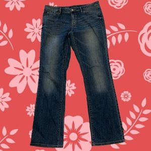 Mossimo Mid-Rise Bootcut Jeans 10R
